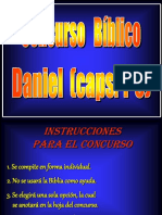 Concurso bíblico (Daniel 1-6).ppt
