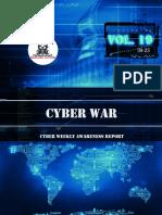 Cyber WAR Weekly Awareness Report 2019-09-23