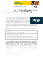 The Challenge of Creating Dialogical Space....Peter Rober