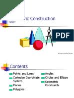 4 Geometric Construction