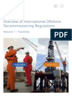 Overview of International Offshore Decommissioning Regulations