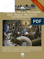 Muerte en La Masion Del Mago Malifax