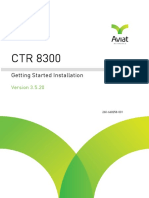 CTR 8300 3.5.20 Getting Started Installation Guide_January2018