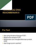 4.Teknologi Dna Rekombinan II Edit
