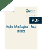 Apresentação - Desafios Da Precificação de Riscos Em Saúde - Rosana Neves -ANS (1)