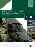 La Evaluación de los Recursos Forestales Mundiales 2010