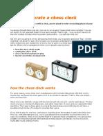 How to Chessclocks