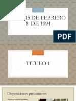 Ley 115 de febrero 8  de 1994.pptx