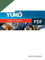 YUKO OIl Catalogs