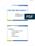 Chapter 1 - Failure Mechanics 1