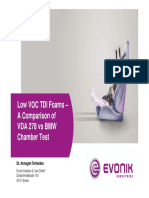 Low Voc Tdi Foams –