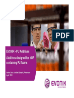 Additives Designed for NOP Containing PU Foams