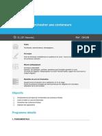 Programme Kubernetes - Orchestrer Ses Conteneurs