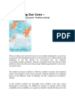 Re-Inventing Our Lives – Detailed Book Brief