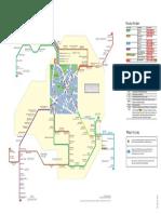 TFL Spider map for New Eltham