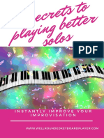 5 Secrets to Playing Better Solos