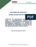 1.- Informe de Servicio Talleres Maynas Actualizado