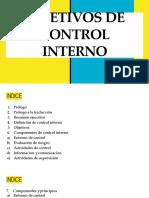 16 - Objetivos de Control Interno