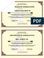 Certificates for Talk Givers