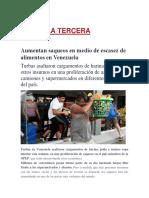 DIARIO LA ESCACES DE ALIMENTOS EN VENEZUELA 6TO MARTES.pdf