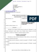 Steinaker Lawsuit Denials
