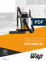 Manual WAP GTW INOX 20
