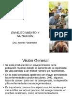 Envejecimiento y Nutricion