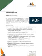 Carta Presentacion Empresa