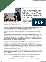 Prophecies St Vincent Ferrer