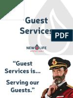 Guest Services Training Presentation