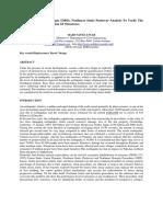 General Procedure to Perform Pushover Analysis