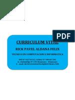 Cv- Aldana Felix