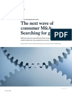 The Next Wave of Consumer MA Searching for Growth