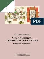 Mesoamérica, territorio en guerra