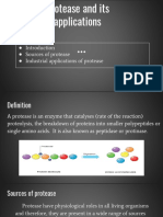 Protease and Its Applications