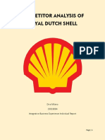Competitor Analysis of SHELL