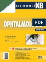 IKB Ophtalmologie, Édition 2018