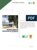 Informe Diseño de Estructura de Pavimento (Final)