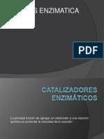 CATALIZADORES ENZIMATICOS