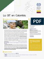 Lectura Complementaria. La OIT en COLOMBIA. Trabajo Decente