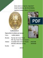 1er Informe Análisis Químico 19-II