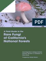 Rare Fungi of California National Forests