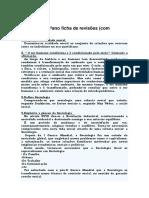 Sociologia 12ºano Ficha de Revisões Para Testes I e II