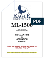 ML 1500 Product Manual
