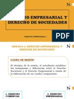 Derecho Empresarial y Derecho Societario
