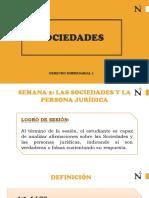 Sociedades y Persona Jurídica