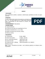 Nitrito - Ondeo Nalco