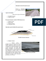 Materials Used in Pavement Layers