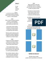 Himnos de Los Paises de Centroamerica