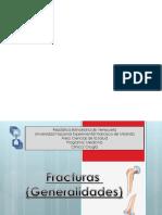 Generalidades de fracturas.